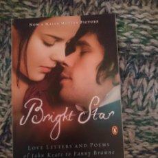 Cine: LBRO EN INGLES DE PELICULA BRIGHT STAR - LOVE LETTERS AND POEMS OF JOHN KEATS TO FANNY BRAWNE. Lote 210617142