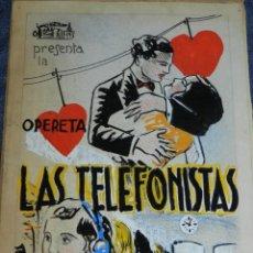 Cine: 2 PORTADAS ORIGINALES DE CINE ILUSTRADO POR JUAN FREXE - LAS TELEFONISTAS - EL MONTE DE LOS MUERTOS. Lote 210729139