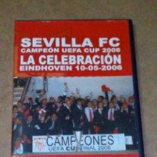 Cine: VENDO DVD SEVILLA FC, LA CELEBRACIÓN HEINDHOVEN, 10/05/2006, (VER OTRA FOTO).. Lote 211591020