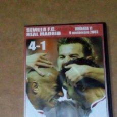 Cine: VENDO DVD, SEVILLA FC: 4 - REAL MADRID: 1, JORNADA 11, 09/11/2003 (VER OTRA FOTO).. Lote 211592757