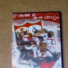 Cine: VENDO DVD, SEVILLA FC EN LA UEFA CUP 2007 CUARTOS Y SEMIFINALES, (VER OTRA FOTO).. Lote 211593065