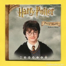 Cine: HARRY POTTER - AND THE CHAMBER OF SECRETS - PRINT STUDIO - CD ROM - EPSON. Lote 211817032