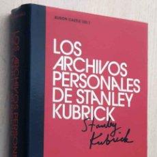 Cine: LOS ARCHIVOS PERSONALES DE STANLEY KUBRICK - CASTLE, ALISON.. Lote 211828966
