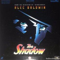 Cine: LASERDISC THE SHADOW - LA SOMBRA - ALEC BALDWIN - WIDESCREEN SPECIAL EDITION PAL 1994. Lote 212558888
