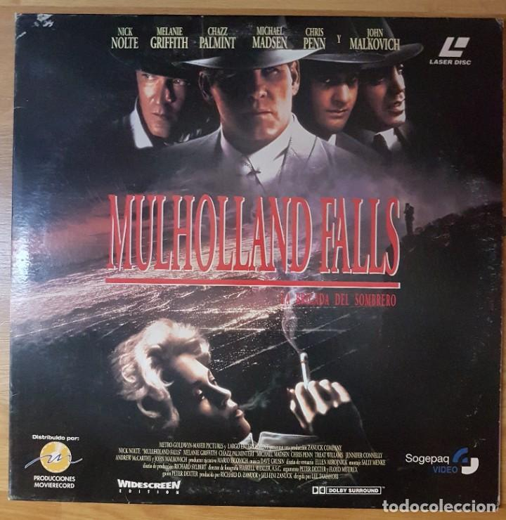 PELICULA LASER DISC: 'MUHOLLAND FALLS (LA BRIGADA DEL SOMBRERO)' (Cine - Varios)