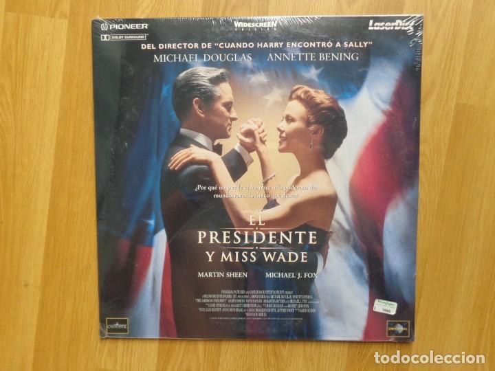 PELICULA LASER DISC: 'EL PRESIDENTE Y MISS WADE' (Cine - Varios)