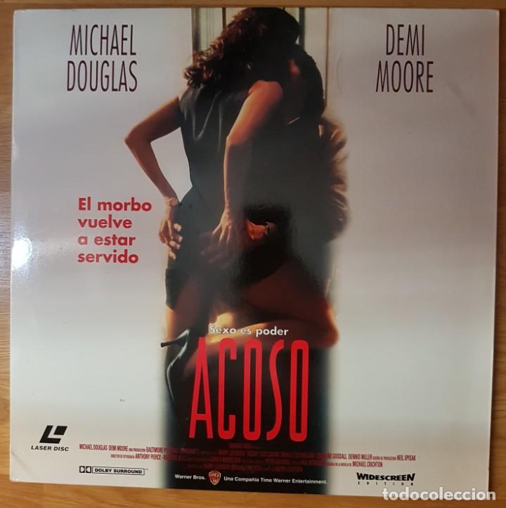 PELICULA LASER DISC: 'ACOSO' (Cine - Varios)