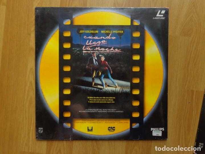PELICULA LASER DISC: 'CUANDO CAE LA NOCHE' (Cine - Varios)