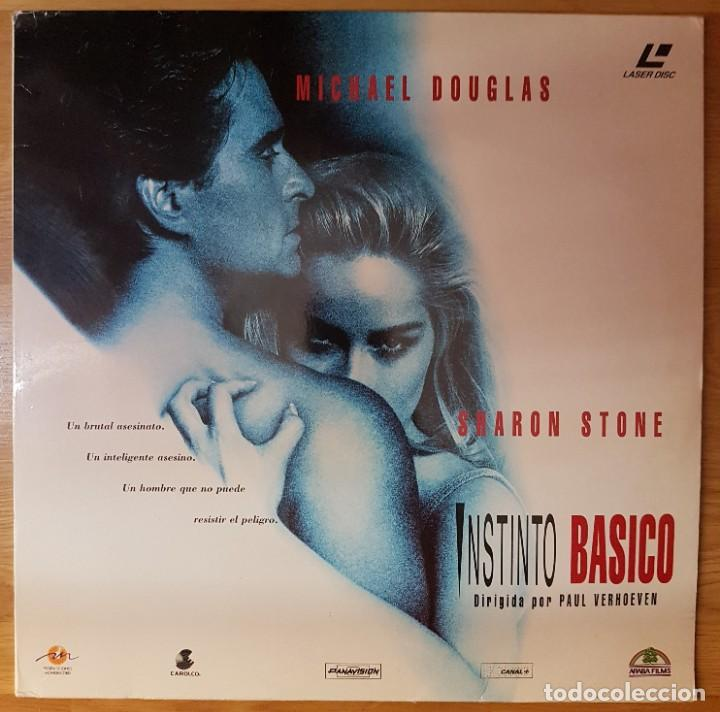 PELICULA LASER DISC: 'INSTINTO BASICO' (Cine - Varios)