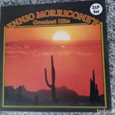 Cine: ENNIO MORRICONE'S.GREATEST HITS.CAJA 3 LPS.. Lote 212670178