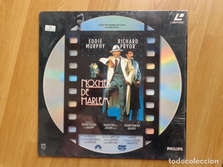 LASER DISC: 'NOCHES DE HARLEM' (Cine - Varios)