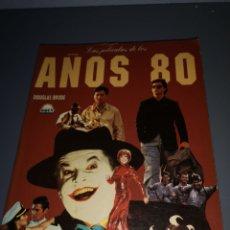 Cine: TRST4. A. LIBRO. LAS PELICULAS DE LOS AÑOS 80. Lote 213796476
