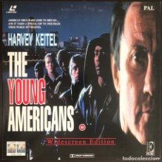 Cine: LASERDISC LOS JOVENES AMERICANOS THE YOUNG AMERICANS HARVEY KEITEL LASER DISC PAL WIDESCREEN VO. Lote 214100510