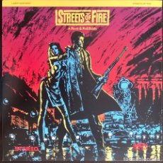 Cine: LASERDISC CALLES DE FUEGO STREETS OF FIRE WILLEM DAFOE, RICK MORANIS LASER DISC NTSC VO. Lote 214102030
