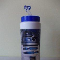 """Cine: BOTE (VASO) CON PAGITA """"R2-D2"""" LA GUERRA DE LAS GALAXIAS ( THE STARS WARS) PEPSI. Lote 215546666"""