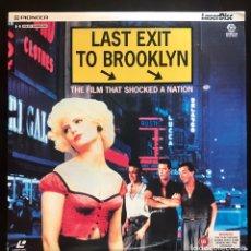 Cinema: LASERDISC ULTIMA SALIDA A BROOKLYN V.O. PAL 1989 LASER DISC JENNIFER JASON LEIGH. Lote 216562672
