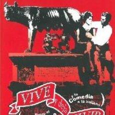 Cinema: VIVE Y DEJA VIVIR. ENTRE EL NEORREALISMO Y LA COMEDIA ITALIANA.(LUENGOS, JAVIER.). Lote 273527823