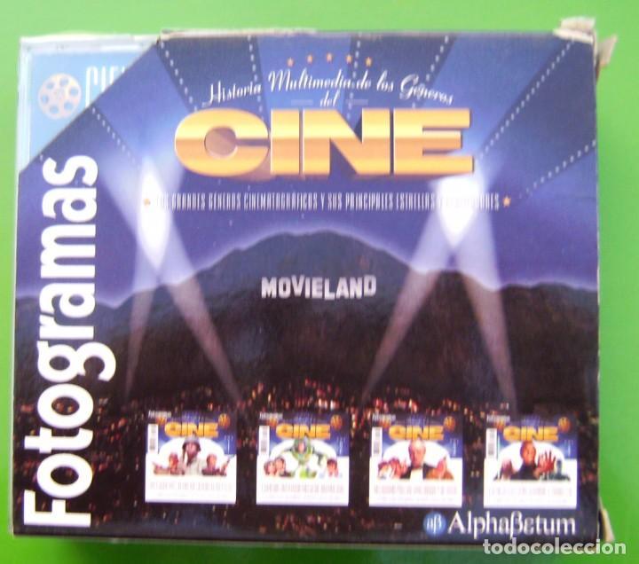 Cine: Lote Historia Multimedia de la Historia del Cine (4 CDs) - Fotogramas - Foto 2 - 217757195