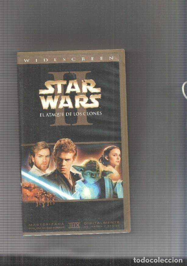 VIDEO VHS: STAR WARS II: EL ATAQUE DE LOS CLONES (Cine - Varios)
