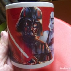 Cine: TAZA STAR WARS CLONE TROOPER DARTH VADER LUCAS FILM VINTAGE. Lote 218109130