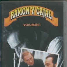 Cine: VIDEO VHS: RAMON Y CAJAL VOLUMEN 1. Lote 218704105