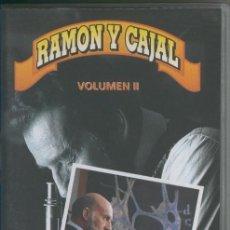 Cine: VIDEO VHS: RAMON Y CAJAL VOLUMEN 2. Lote 218704108