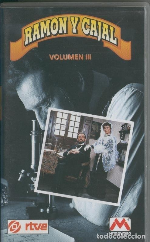VIDEO VHS: RAMON Y CAJAL VOLUMEN 3 (Cine - Varios)