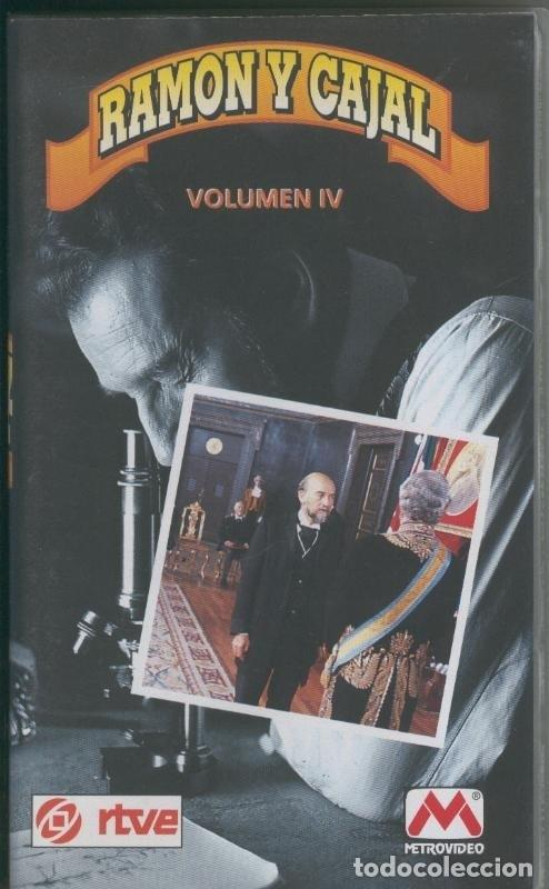 VIDEO VHS: RAMON Y CAJAL VOLUMEN 4 (Cine - Varios)