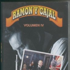 Cine: VIDEO VHS: RAMON Y CAJAL VOLUMEN 4. Lote 218704117