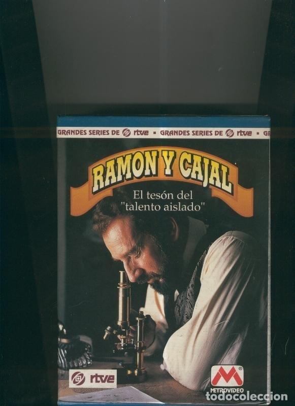 VIDEO VHS: RAMON Y CAJAL CAJA ARCHIVADORA SERIE (Cine - Varios)