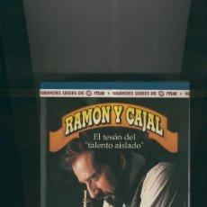 Cine: VIDEO VHS: RAMON Y CAJAL CAJA ARCHIVADORA SERIE. Lote 218704130