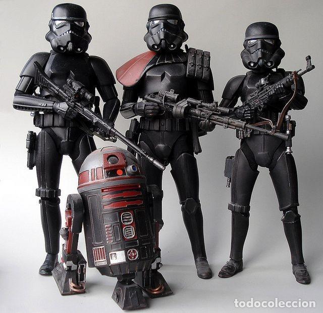 Cine: Casco Star Wars Tropas Imperiales Black Series - Foto 13 - 218708161