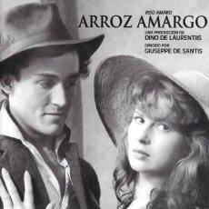 Cine: LIBRETO ARROZ AMARGO - GIUSEPPE DE SANTIS. Lote 219016703