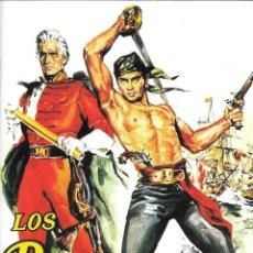 Cine: LIBRETO LOS BUCANEROS - ANTHONY QUINN. Lote 219017063