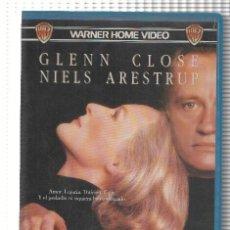 Cine: VHS-CINE: CITA CON VENUS - GLENN CLOSE. Lote 219092795