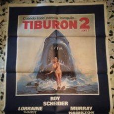 Cine: TIBURÓN 2 POSTER CARTEL DE CINE. Lote 219094870