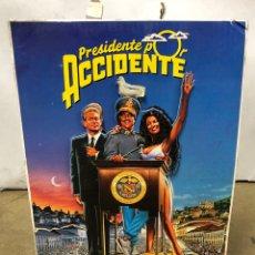 Cine: PRESIDENTE POR ACCIDENTE (1990). CARTEL TROQUELADO PUBLICITARIO DE LA PELÍCULA. RICHARD DREYFUSS. Lote 219168770