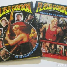 Cine: FLASH GORDON-1ª Y 2ª PARTES DE LA PELICULA-LIBROS POP UP-VER FOTOS-(V-22.263). Lote 219226116