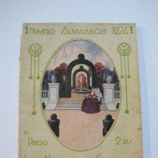 Cine: CINE-LA NOVELA SEMANAL CINEMATOGRAFICA-ALMANAQUE 1924-VER FOTOS-(V-22.266). Lote 219227135