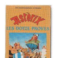 Cine: VHS-CINE: ASTERIX I LES DOTZE PROVES (COLECCION LA VANGUARDIA 1992). Lote 219268806