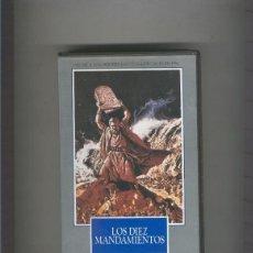 Cine: VIDEO VHS: LOS DIEZ MANDAMIENTOS (CHARLTON HESTON-YUL BRYNNER). Lote 219283400
