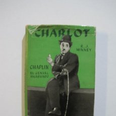 Cine: CHARLOT-CHAPLIN EL GENIAL VAGABUNDO-LIBRO CON FOTOS-EDITORIAL JUVENTUD-VER FOTOS-(V-22.285). Lote 219557286