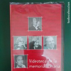 Cine: VIDEOTECA. MEMORIA LITERARIA. VHS LITERATURA SIGLO XX. SANTILLANA. BORGES OCTAVIO PAZ ROSA CHACEL. Lote 221114647