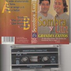 Cine: CASETTE ORIGINAL SOMBRA Y LUZ GRANDES EXITOS. Lote 221375938