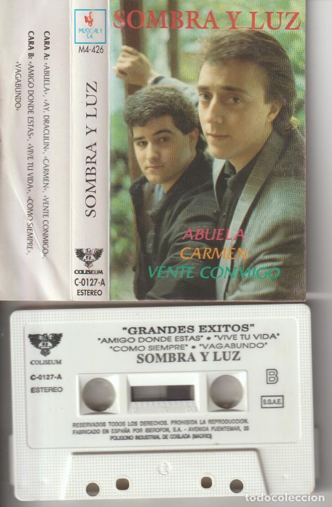CASETTE ORIGINAL SOMBRA Y LUZ AMIGO DONDE ESTAS (Cine - Varios)