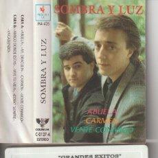 Cine: CASETTE ORIGINAL SOMBRA Y LUZ AMIGO DONDE ESTAS. Lote 221375960