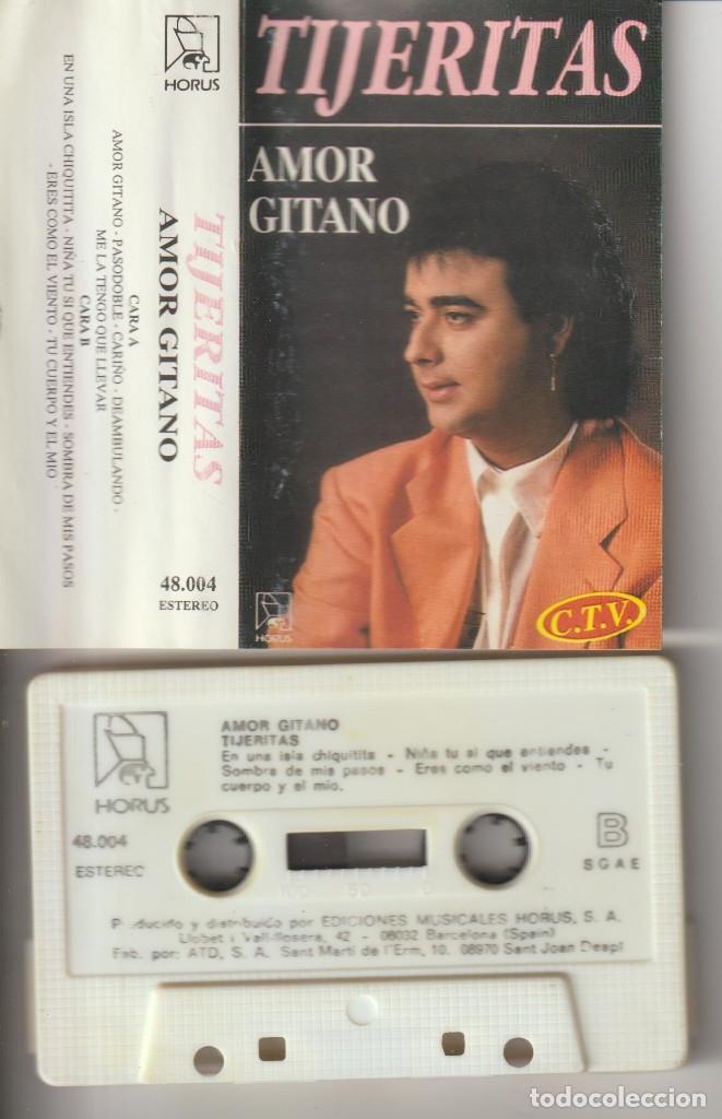 CASETTE ORIGINAL TIJERITAS GITANO (Cine - Varios)