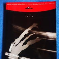 Cine: FESTIVAL DE CINEMA DE BARCELONA - 1988 - CATALOGO. Lote 221805680