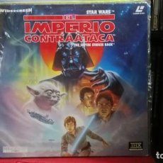 Cine: LASER DISC STAR WARS EL IMPERIO CONTRAATACA. Lote 221919526