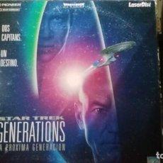 Cine: LASER DISC STAR TREK GENERATIONS. Lote 221919611